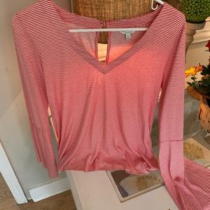 Lucky Brand Tops - 🎃Red and white Lucky Brand top! Size XS
